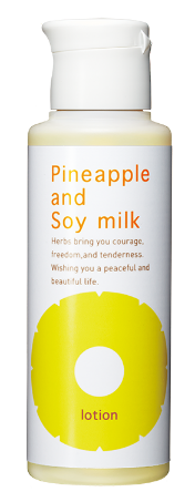 Hair inhibitor-Pineapple and Soy Milk Lotion